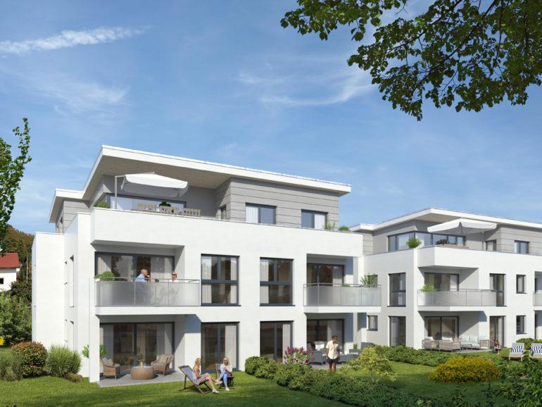 Mehrfamilienhäuser und Doppelhaus, Bempflingen