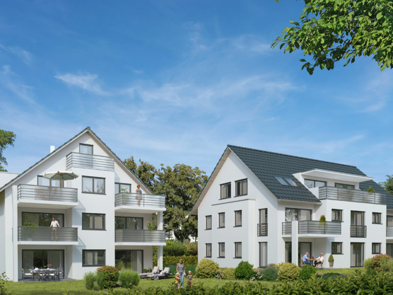 Mehrfamilienhäuser, Lichtenstein-Holzelfingen