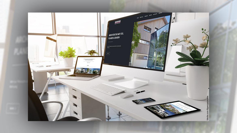Neuer Webauftritt des Architekturbüro Hölz in Reutlingen